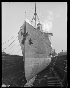 SS Leviathan dry dock South Boston