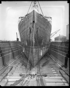 USS Leviathan dry dock South Boston