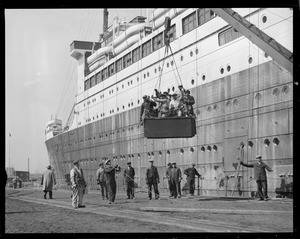 SS Leviathan - South Boston drydock