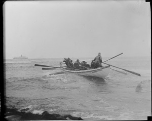 Brave Manomet off to do their stuff. 3 of 8 died doing their duty for Uncle Sam.