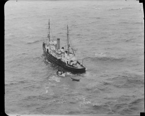USCG Redwing that took passengers and crew from stranded Robert E. Lee to Boston