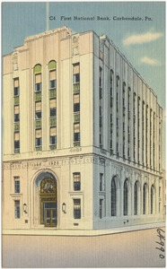 First National Bank, Carbondale, Pa.