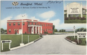 Beauford Motel, located on Route 11 between Carlisle & Harrisburg, Pa.