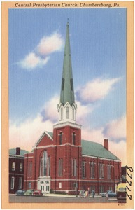 Central Presbyterian Church, Chambersburg, Pa.