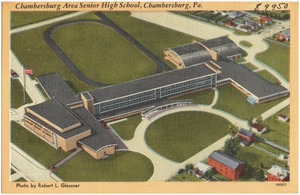 Chambersburg Area Senior High School, Chambersburg, Pa.