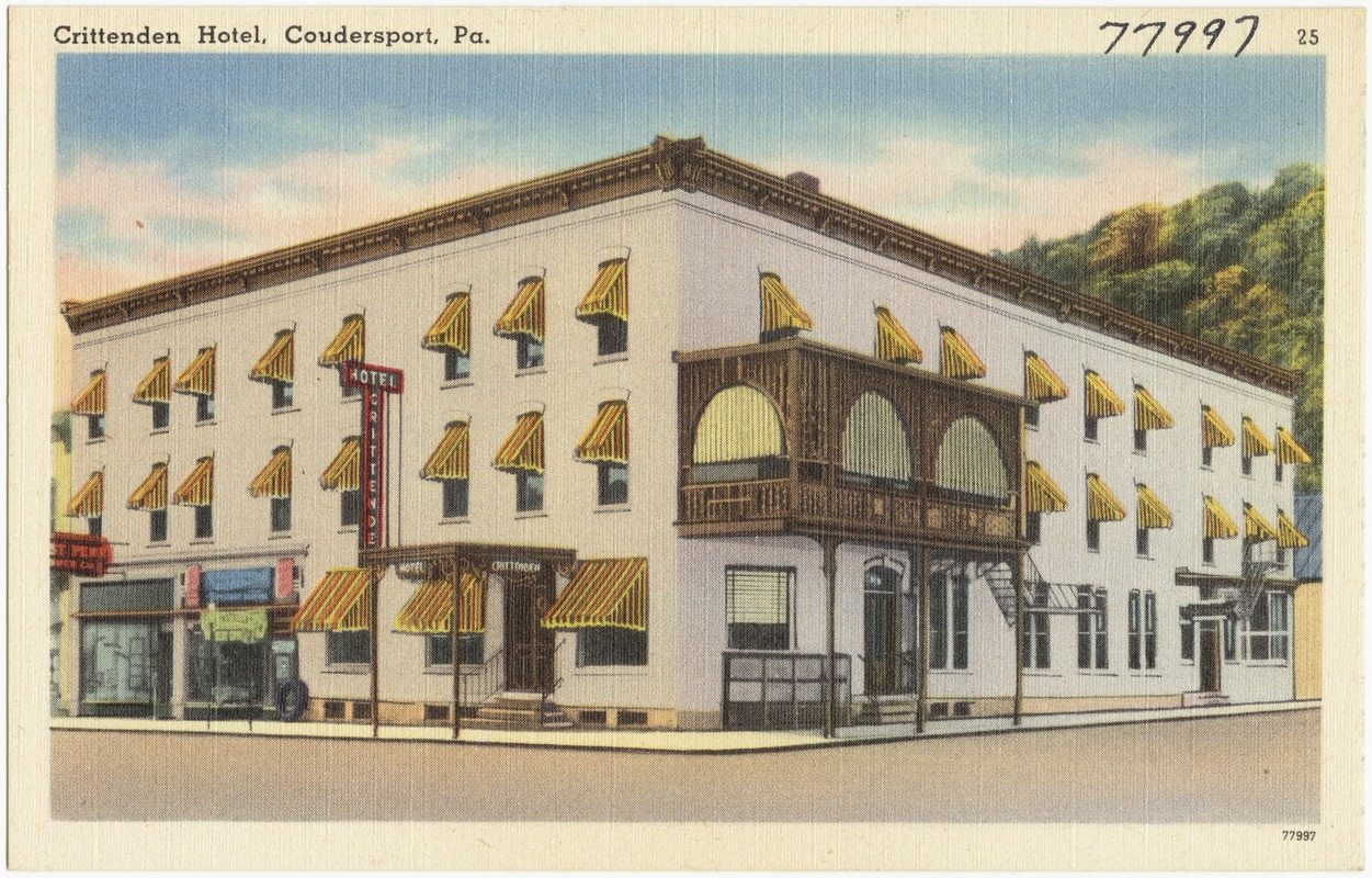 Crittenden Hotel, Coudersport, Pa.