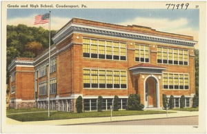 Grade and High School, Coudersport, Pa.