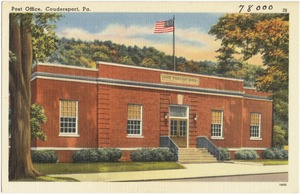 Post office, Coudersport, Pa.