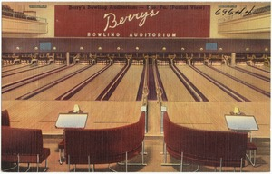 Berry's Bowling Auditorium -- Erie, Pa.