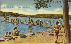 Bathing at Harvey's Lake, Pennsylvania
