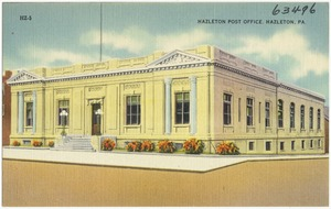Hazelton Post Office, Hazelton, PA.
