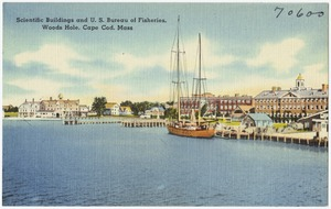 Scientific buildings and U. S. Bureau of Fisheries, Woods Hole, Cape Cod, Mass.