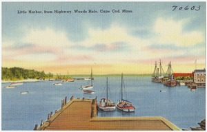 Little Harbor, from highway, Woods Hole, Cape Cod, Mass.