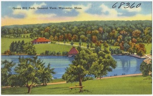 Green Hill Park, general view, Worcester, Mass.