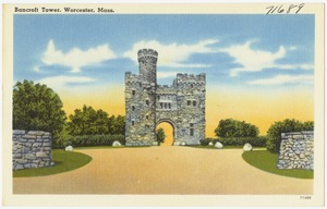 Bancroft Tower, Worcester, Mass.