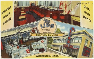 The Lido, cocktail lounge. Worcester, Mass.
