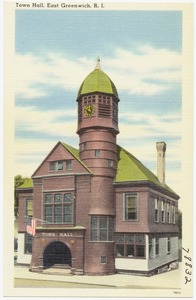 Town Hall, East Greenwich, R.I.