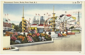 Amusement Center, Rocky Point Park, R.I.