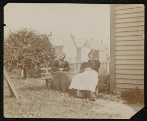 My mother's aunts, Highland Avenue