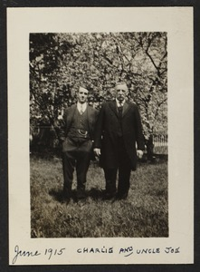 June 1915, Charlie and Uncle Joe