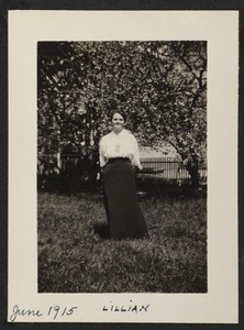 June 1915, Lillian