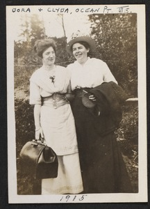 Dora & Clyda, Ocean Point, Maine, 1915