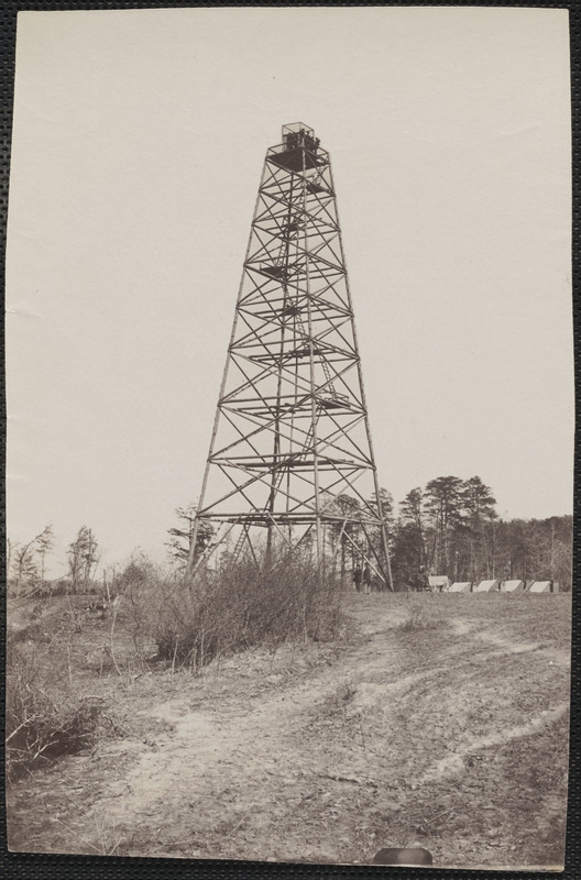 Crow's Nest signal tower James River