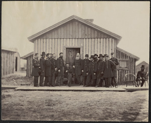General U.S. Grant staff at City Point Virginia