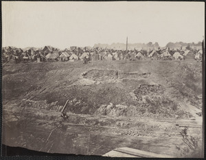 Camp of Construction Corps U.S. military railroad City Point