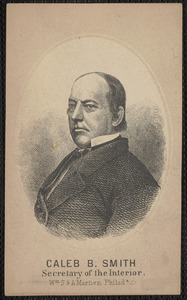 Caleb B. Smith Secretary of the Interior