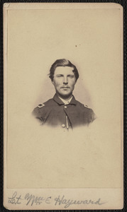 1st Massachusetts, Joseph H. Dalton Lieutenant, Lieutenant William E. Hayward
