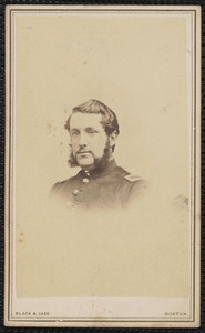 1st [Battalion Massachusetts] Heavy Artillery, yours truly William H. Jeffrey