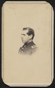2d Lieutenant Company B, 1st Battalion Heavy Artillery Massachusetts Volunteers, James H. Morgan [Jr.]