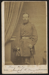 10th, yours truly Joseph K. Newell, 1st Lieutenant, 10th Massachusetts [Infantry]