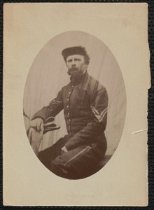 A. [Albert] W. Sturdy, 18th Massachusetts [Infantry] Corporal