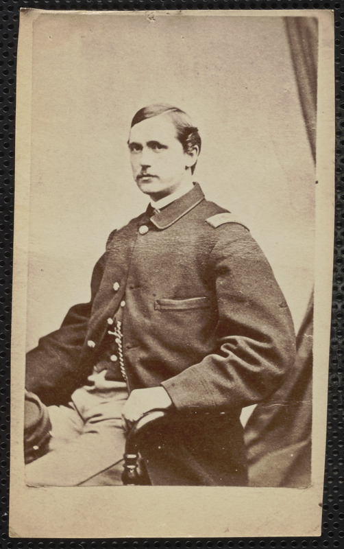 19th [Massachusetts Infantry] Colonel J. [James] H. Rice, U.S. Army, Comdy