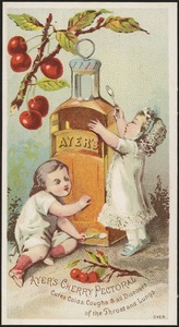 Ayer's Cherry Pectoral cures colds, coughs and all diseases of the throat and lungs