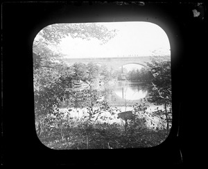 Sudbury Department, Sudbury Aqueduct, Echo Bridge, Needham; Newton, Mass., ca. 1880