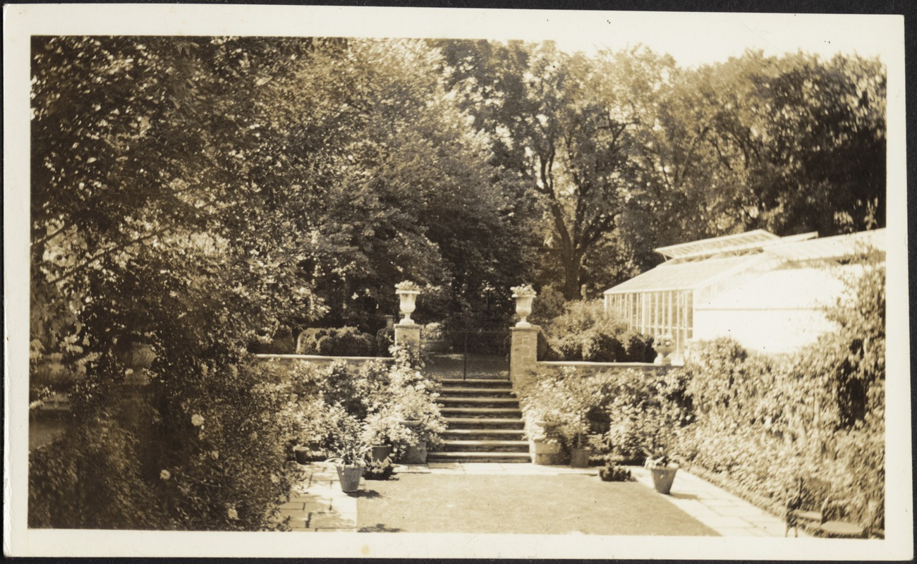 "Ashdale Farm. ""Entrance to Rose Garden"""