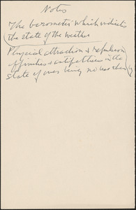 [Zula Maud Woodhull autograph note, [Hove, Sussex, England, approximately 1927-1930?]