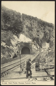 East portal, Hoosac Tunnel, Mass.