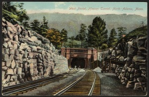 West portal, Hoosac Tunnel, North Adams, Mass.
