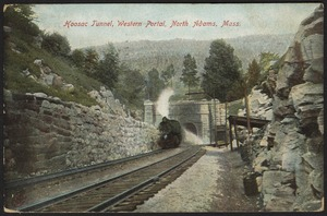 Hoosac Tunnel, western portal, North Adams, Mass.