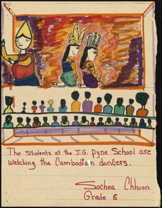 Students at the J.G. Pyne School