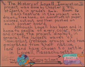 History of Lowell immigration