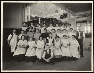 Group of pentograph girls. Office building, 3rd. floor
