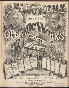 Sheet Music Lithograph Covers