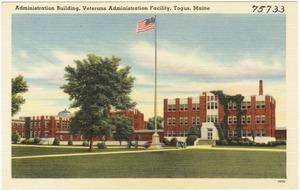 Administration building, Veterans Administration Facility, Togus, Maine