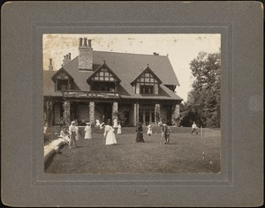 Shadow Brook: croquet game