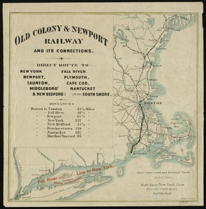 Old Colony & Newport railway and its connections